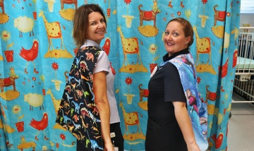 Redland radiographers cape up for sick kids