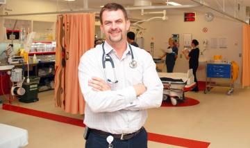 Dr Anthony Bell, member of the Queensland Clinical Senate and Senate's Executive