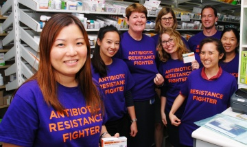 Mandy Ng and the antibiotic awareness team are championing antibiotic resistance at QE2 Hospital