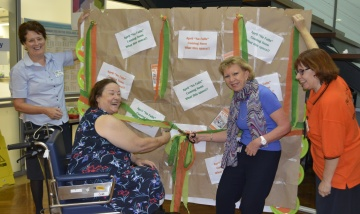 Redland Hospital staff and patients embrace 'April No Falls'