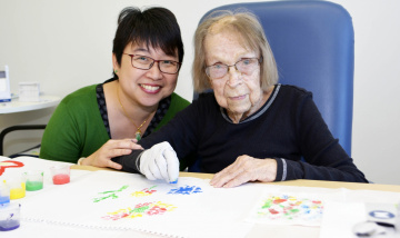 Art group sees Logan Hospital rehab patients tap into inner talent