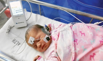 Every baby receives a hearing test
