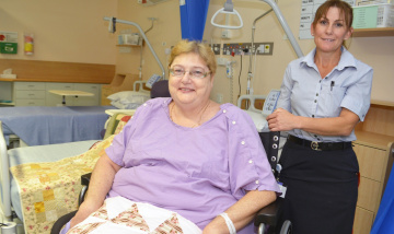 Gifts bring touch of home to Beaudesert Hospital patients