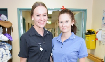 New nurses care for own local community