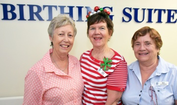 Logan Midwives bid Birthing Suite farewell