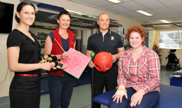 Team approach to Brain Injury Rehabilitation