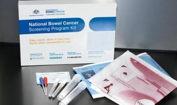 Bowel cancer screening kit