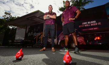 Darius Boyd and Peter Civoniceva there will be blood this Origin series PAH