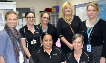 The Logan Hospital CBORD team