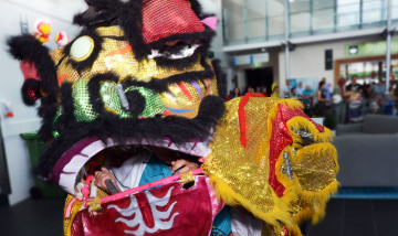 Chinese New Year celebrations at Princess Alexandra Hospital