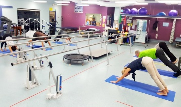 Core strengthening classes relieve stress - PAH news