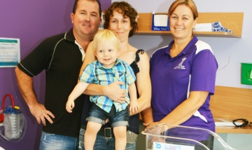 Family turns grief into gift of love for Beaudesert families