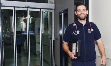 Danny Hindle ICU Outreach PAH