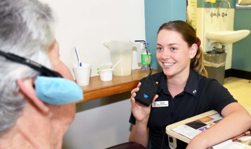 Redland Hospital deaf and hearing impaired