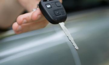 Handing over keys