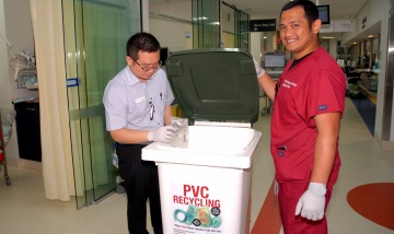 QEII takes healthy approach to PVC recycling