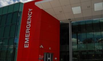 QEII Emergency signage