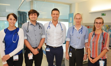 Redland Hospital intern turns back on nightlife for saving lives