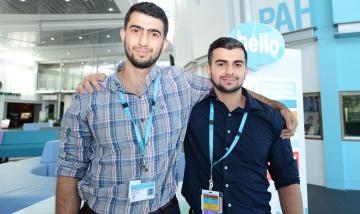 Brothers inern at PAH news