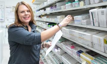 QEII Pharmacy Assistant Christine Oliver