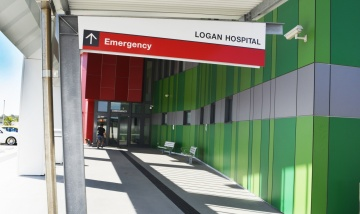 Logan Emergency Dept entry