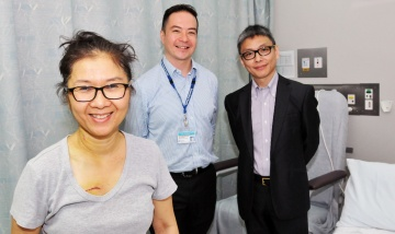 First non-invasive aortic valve replacement at PAH