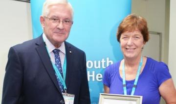 Australia Day Achievement for Allied Health director