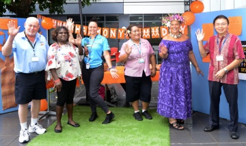 Harmony day at PAH news