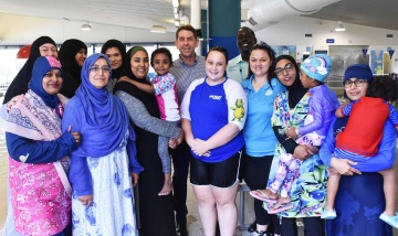 Healthy New Communities swimming lessons
