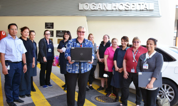 acute care@home teams in Logan are fully digital