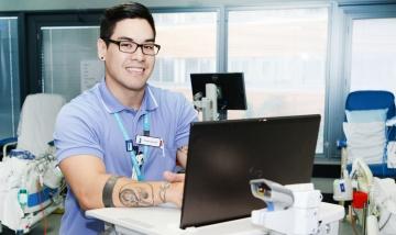 Ian Burns Graduate Nurse 2019