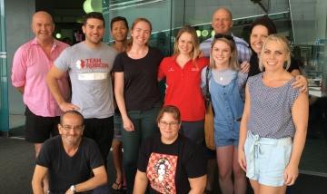 PAH welcome home Mackay relief crew