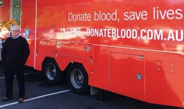 QEII blood donations saves lives