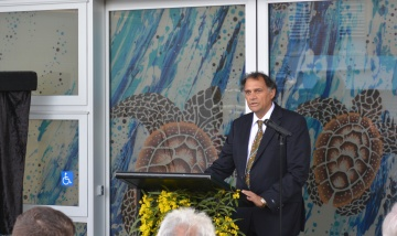 Dr Noel Hayman opening the Inala Centre of Excellence