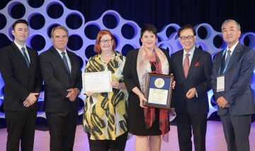 Redland Hospital gold at International Hospital Federation