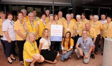 PA Hospital volunteers