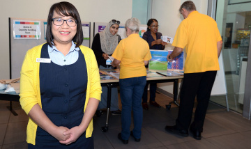 Multicultural Nurse Navigator Kim Tran PAH