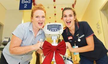 Christmas calls for dedicated staff