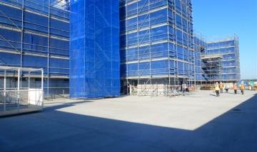 Logan Hospital expansion progress photo