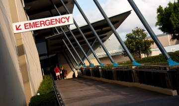 Logan Hospital entrance