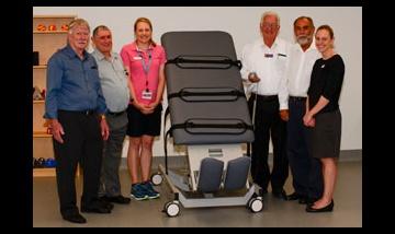 Donation to Logan Rehabilitation unit
