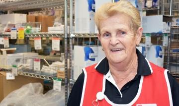 Lorraine loving making patients smile