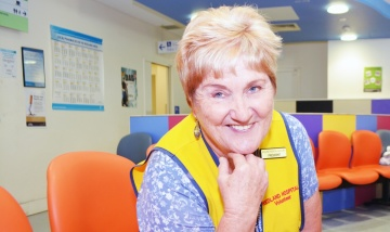 Auxiliary puts patient comfort first in Redland Hospital ED