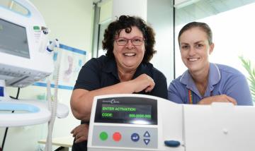 new home kidney dialysis machine
