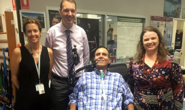 World-first spinal cord injury trial at PAH news