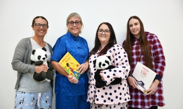 PANDA unit pajama foundation