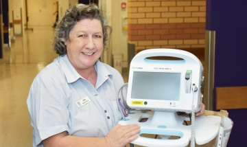 Meet Judy Riddell from Pandanus Ward