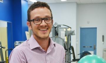 Physiotherapist Mark Nelson