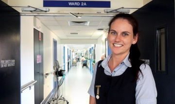 Graduate nurse Jessica Hope Baker secures full-time employment - QEII news