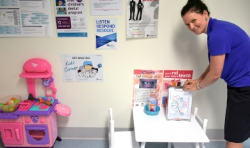 QEII Dental Clinic Kids Corner